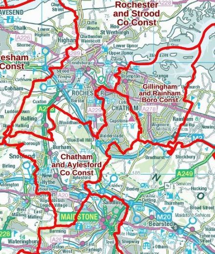 Build Your Own Map Electoral Constituencies Map GB